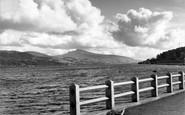 Bala, The Lake And Arran Mountain c.1955