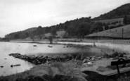 Bala, The Lake And Boating Station c.1955