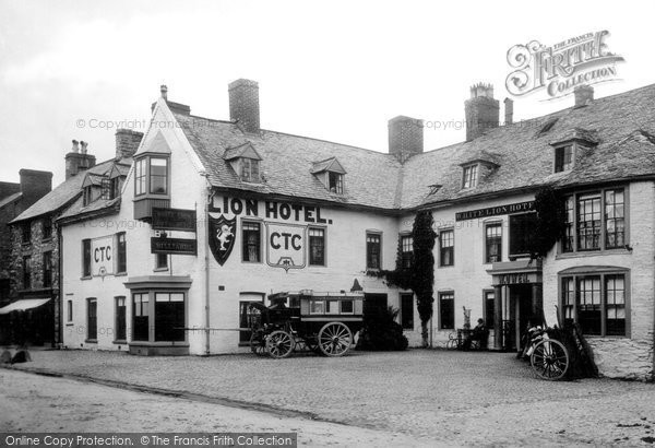 Bala, White Lion Hotel 1888