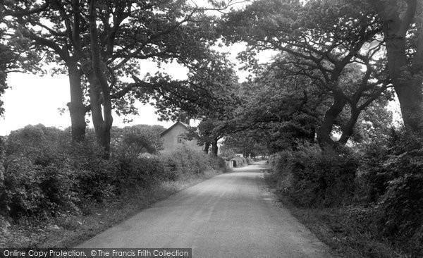 Balderstone, Commons Lane c.1955