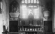 Balderton, Church Chancel 1890