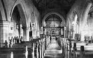 Balderton, Church, Nave East 1890