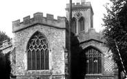 Baldock, St Mary's Church 1925
