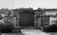 Baldock, The Memorial c.1955