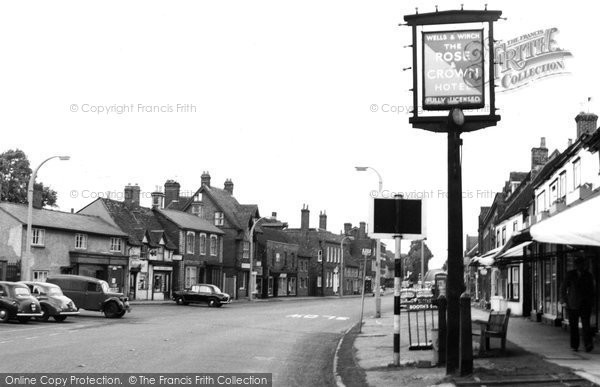 Baldock, White Horse Street c.1960