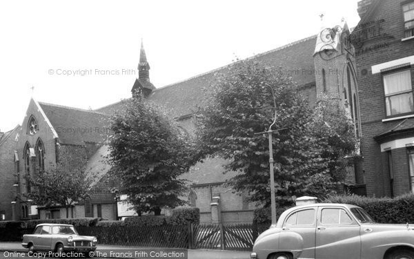 Balham, Parish Church Of The Ascension c.1960