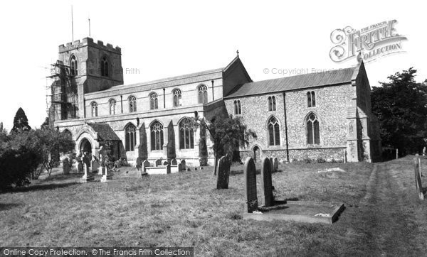 Balsham, Parish Church Of St John The Baptist 1959