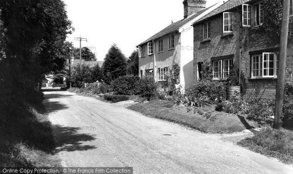 Balsham, Woodhall Lane 1959