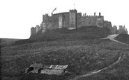 Bamburgh, Castle c.1880