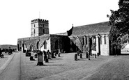 Bamburgh, Parish Church of St Aidan 1954