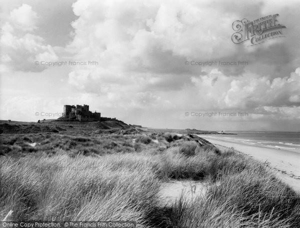 Bamburgh, The Castle 1954