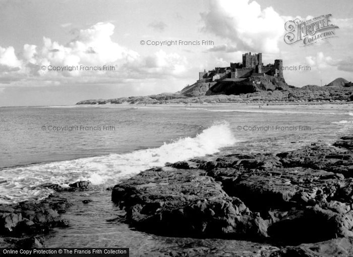 Bamburgh, The Castle 1954