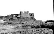 Bamburgh, The Castle c.1955