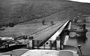 Bamford, Dam And Win Hill c.1955