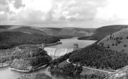 Bamford, Derwent Valley Reservoir And Howden Dam c.1965