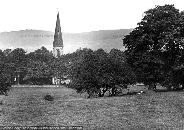 Photo of Bamford, St John the Baptist Church 1919