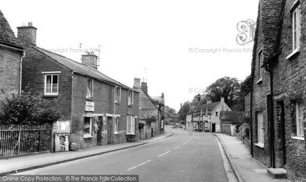 Bampton, Bridge Street c.1955