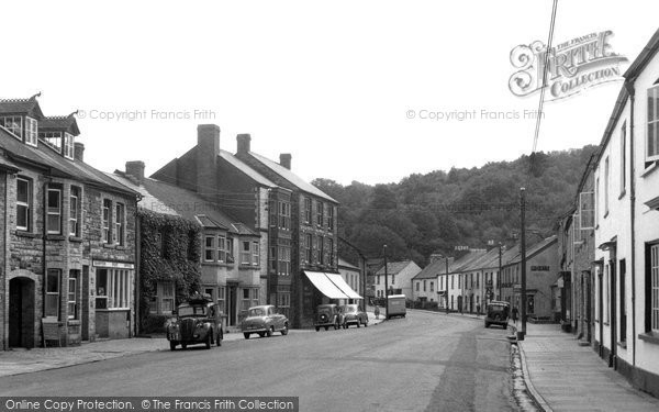 Photo of Bampton, Brook Street c1955