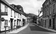 Bampton, Castle Street c.1950