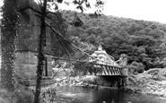 Bampton, Chain Bridge c.1955