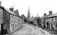 Bampton, Church View c.1965