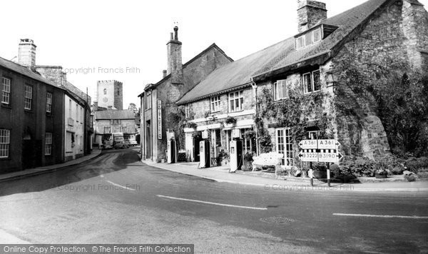 Photo of Bampton, Fore Street c1955