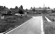 Bampton, Housing Estate c.1965