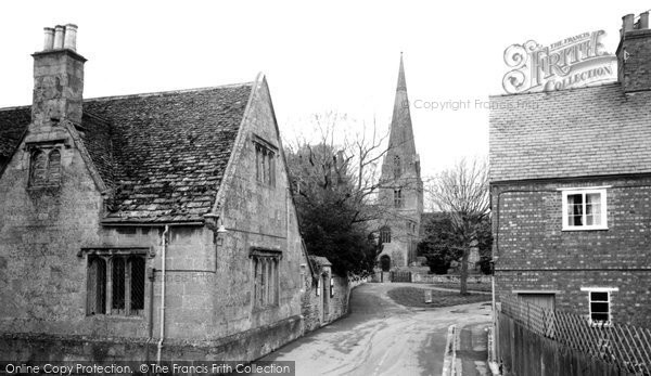 Bampton, St Mary's Church c.1965