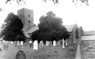 Bampton, St Michael's Church c1950