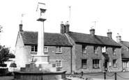 Bampton, The Memorial c.1965