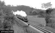 Bampton, The Railway c.1955