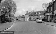 Bampton, The Square c.1965