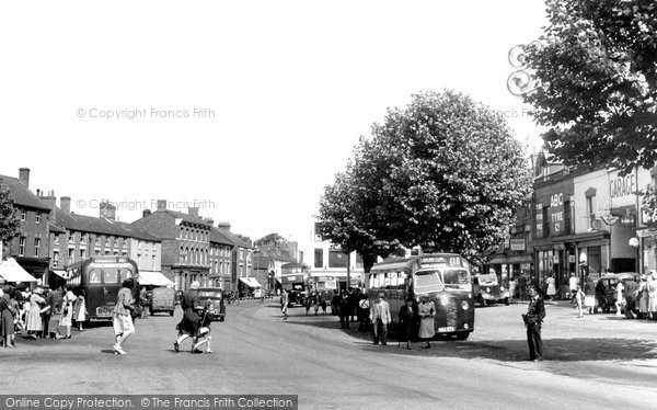 Banbury, Bridge Street c.1955