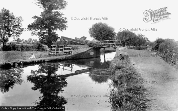 Banbury, Canal 1921