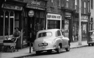 Banbury, High Street Shops c.1955