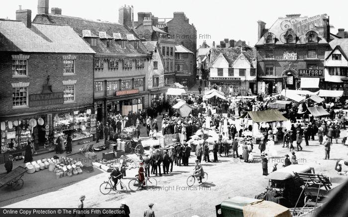 Banbury, Market 1921