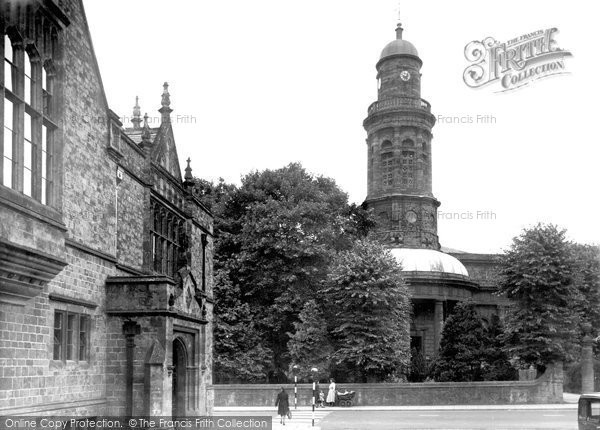 Banbury, St Mary's Church And Church House c.1955