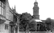 Banbury, St Mary's Church And Church House c.1955