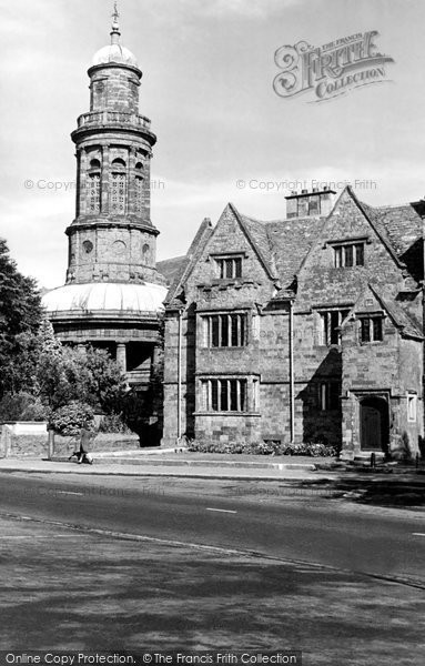 Banbury, St Mary's Church And Vicarage c.1955
