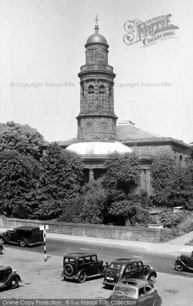 Banbury, St Mary's Church c.1955