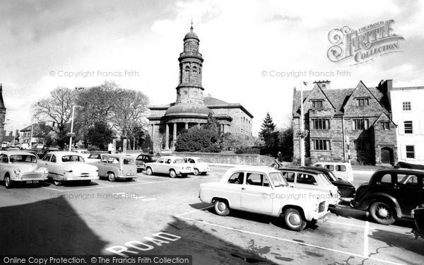 Banbury, St Mary's Church c.1960
