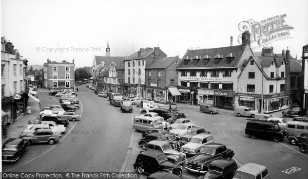 Banbury, The Market Place c.1960