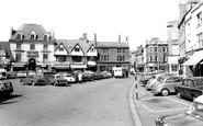 Banbury, The Market Place c.1965