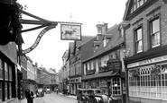 Banbury, The Original Cake Shop c.1955