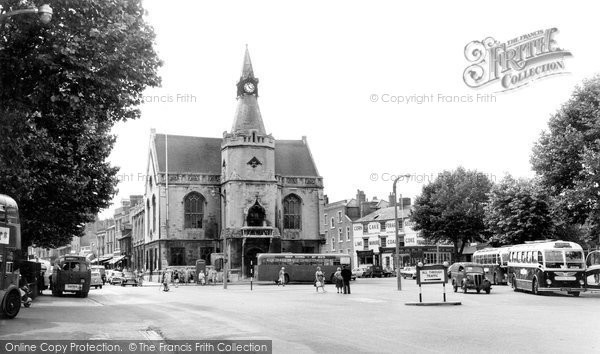 Banbury, The Town Hall c.1960