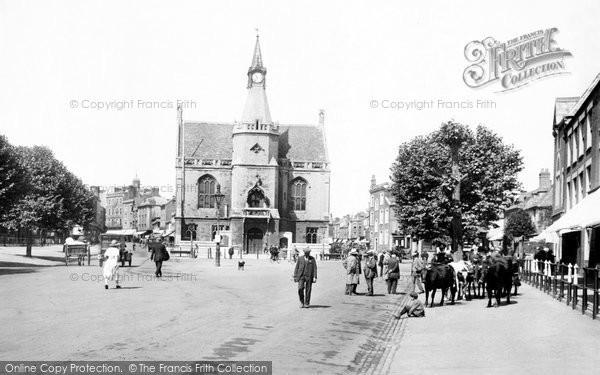 Banbury, Town Hall 1921