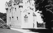 Banchory, Crathes Castle 1949