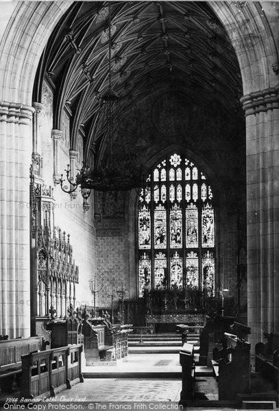 Bangor, Cathedral Choir East 1890
