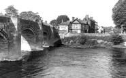 Bangor-Is-Coed, Bridge c.1955