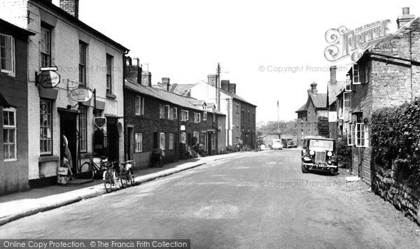 Bangor Is Coed, High Street c.1955